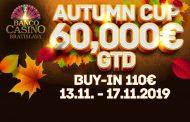 Banco Casino Autumn Cup z pulą 60.000€ już w listopadzie