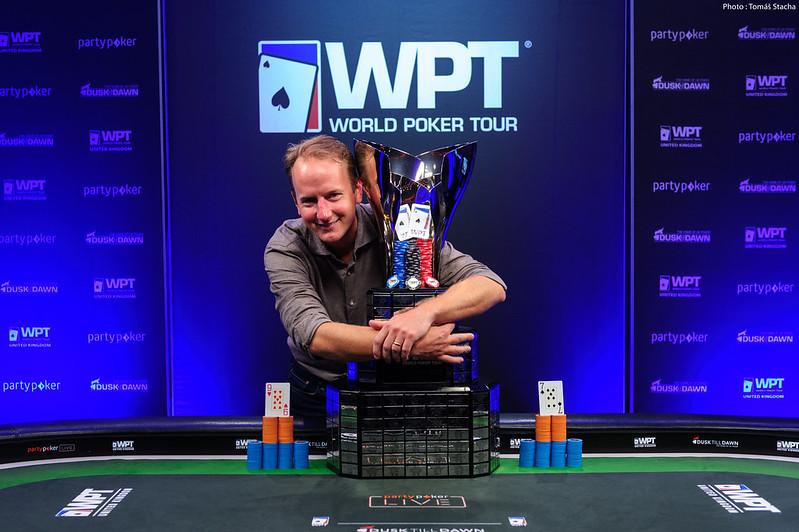 Brandstrom wygrywa Main Event WPT UK, Tureniec mistrzem WPT DeepStacks