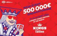 Kings of Tallinn - największy festiwal pokerowy w północnej Europie powraca w lutym!