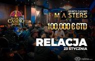 Banco Casino Masters dzień 1B - relacja na żywo 00:10