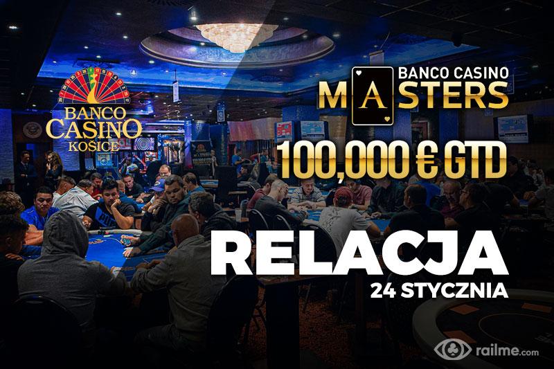 Banco Casino Masters dzień 1C – relacja na żywo 04:30