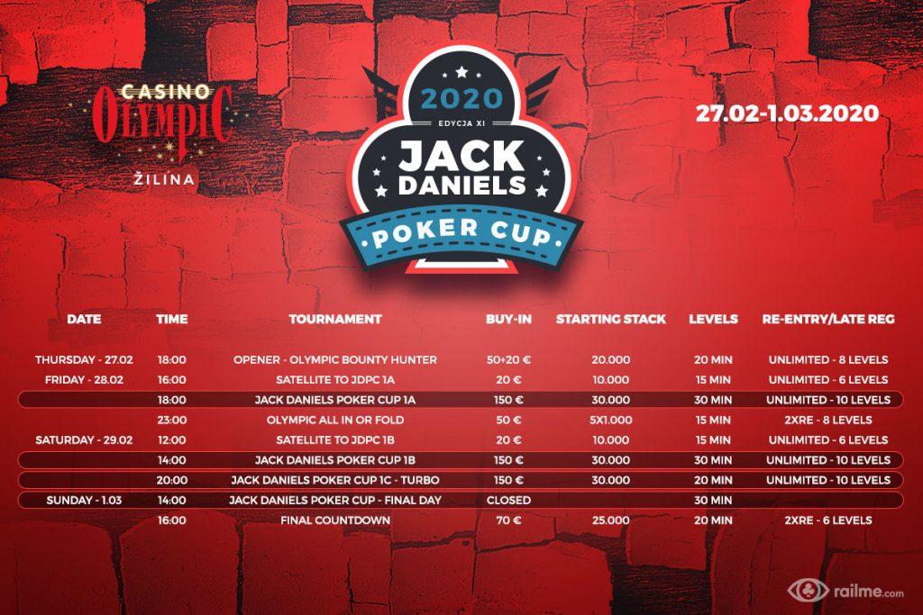 Jack Daniels Poker Cup