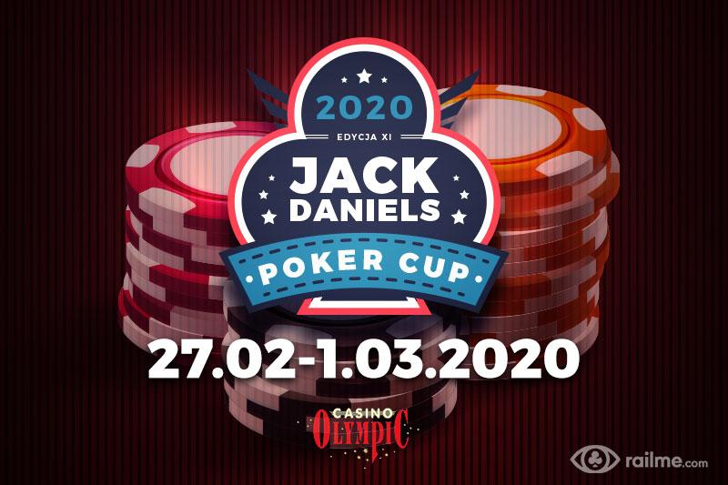 Jack Daniels Poker Cup XI w lutym w Olympic Casino w Żylinie!