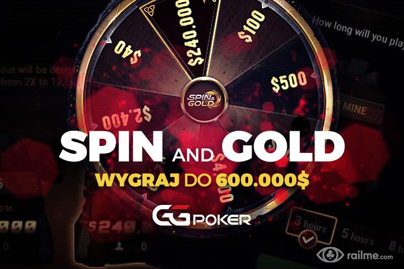 GGNetwork uruchamia Spin&Gold! Do wygrania nawet 600.000$!