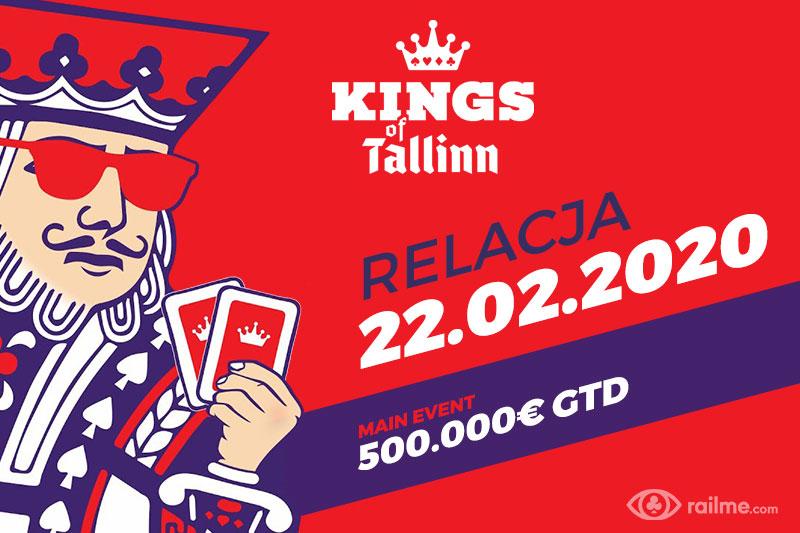 Kings of Tallinn dzień 3 – relacja na żywo 22:20