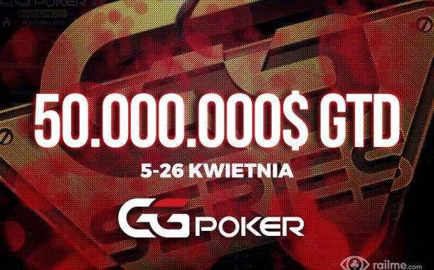 GGSeries 2020 - 50.000.000$ gwarantowane w kwietniowym festiwalu!