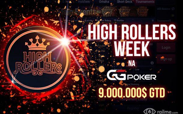 22-29 marca - High Rollers Week na GGPoker!