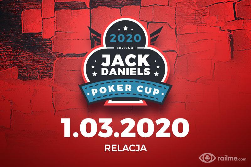 Jack Daniels Poker Cup XI finał - relacja na żywo 20:50