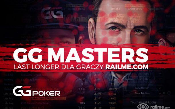 GG Masters Last Longer – tylko dla graczy RailMe.com!