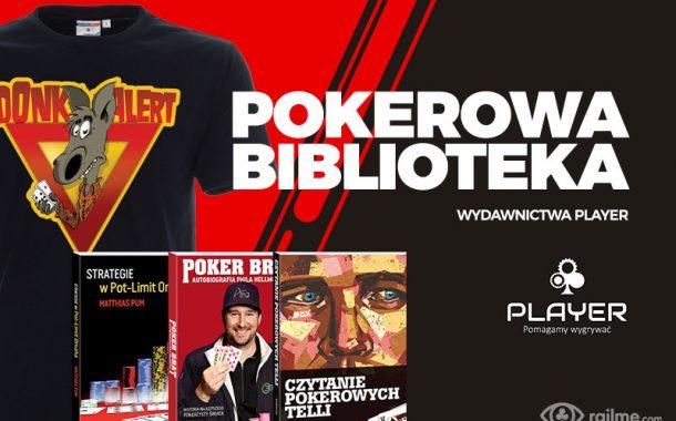 Wydawnictwo Player - pokerowe książki i koszulki z rabatem od RailMe.com!