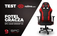 Test RailMe.com - Fotel dla gracza SPC Gear SR300F V2