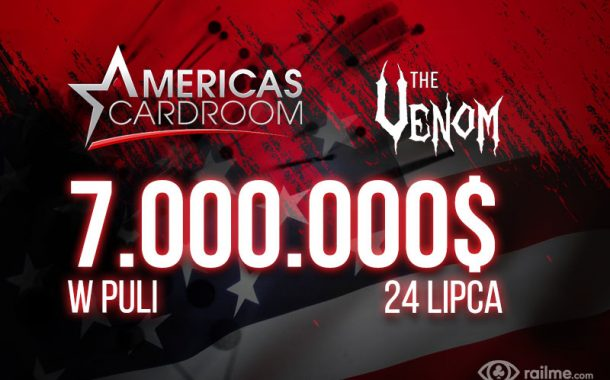 The Venom na ACR - 7.000.000$ w puli turnieju na przełomie lipca i sierpnia!
