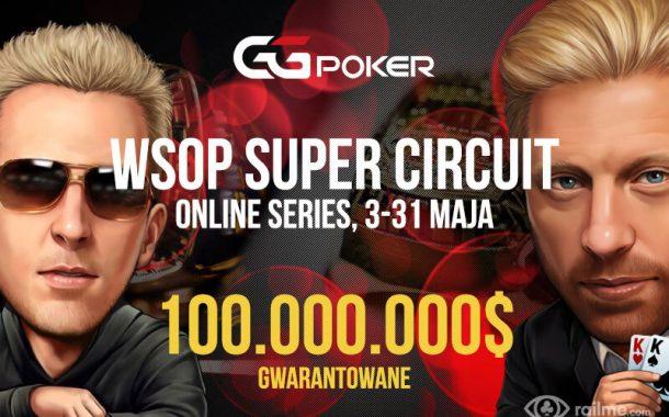 WSOP Super Circuit Online Series z pulą 100.000.000$!!