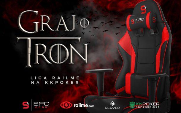 Graj o tron - liga RailMe na KKPoker rusza 30 kwietnia!
