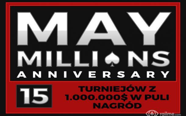 May Millions - 15 turniejów z 1.000.000$ w puli nagród na Americas Cardroom