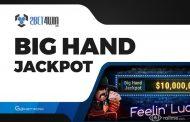 Big Hand Jackpot na 2bet4win - dodatkowa gotówka za układy premium
