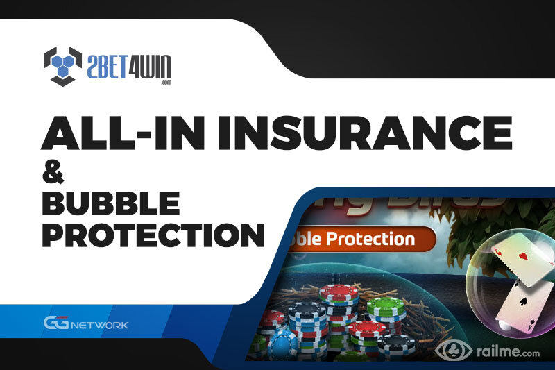 All-In Insurance i Bubble Protection na 2bet4win - Wasza tarcza przeciwko bad beatom