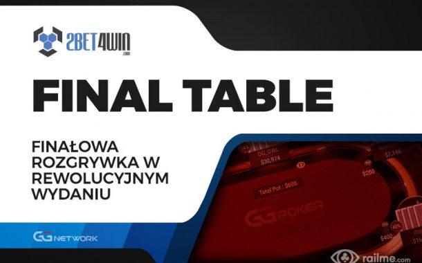 Final Table na 2bet4win - gra na stole finałowym w rewolucyjnym wydaniu