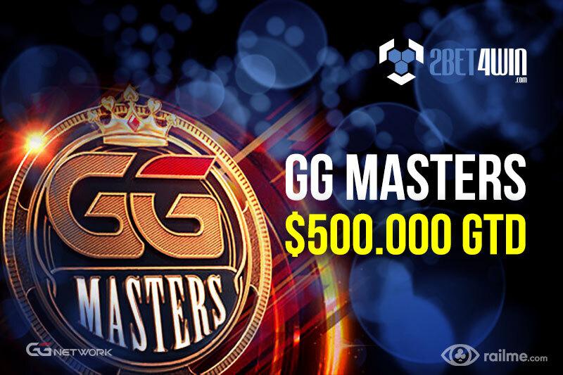 GG Masters na 2bet4win - całoroczna walka o pakiet ambasadora o wartości 500.000$