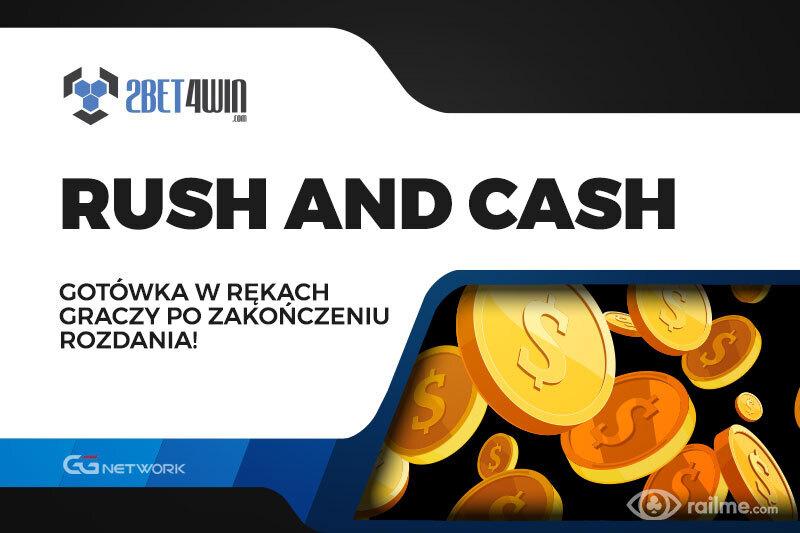 Rush and Cash na 2bet4win - szybka cashówka z ekspresowymi nagrodami