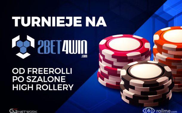 Turnieje na 2bet4win - szeroki wybór formatów i odmian!