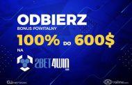 Bonus powitalny na 2bet4win - 100% kwoty pierwszego depozytu do 600$!