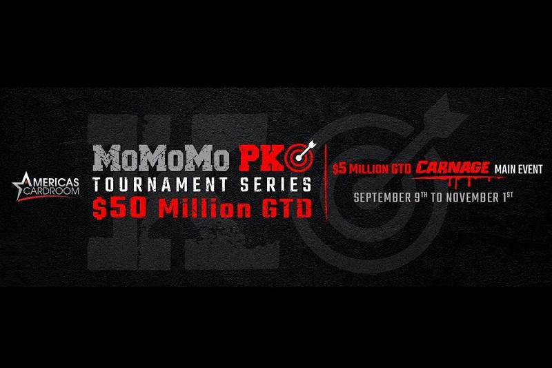MoMoMo PKO Tournament Series - 50.000.000$ do wzięcia w turniejach na ACR