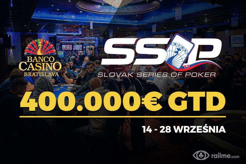 Ponad 400.000€ gwarantowane w Slovak Series of Poker