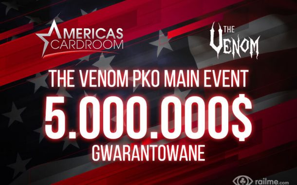 MoMoMo PKO Tournament Series – 5.000.000$ GTD w Main Evencie Venom PKO