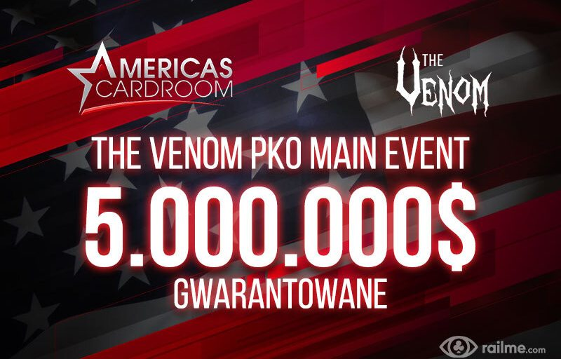 MoMoMo PKO Tournament Series – 5.000.000$ GTD w Main Evencie Venom PKO