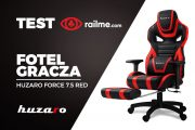 Test RailMe.com – Fotel dla gracza Huzaro Force 7.5 Red