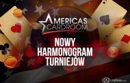 Americas Cardroom - nowy, bogaty harmonogram turniejów