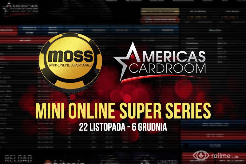 Americas Cardroom ogłasza harmonogram Mini Online Super Series!