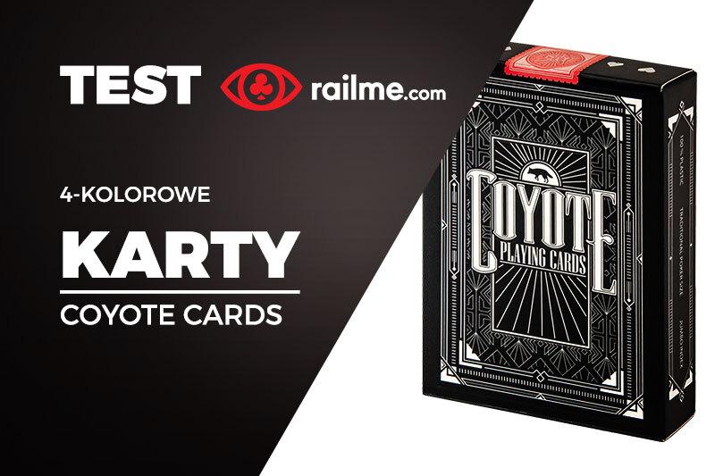 Test RailMe.com - 4-kolorowe karty Coyote Cards