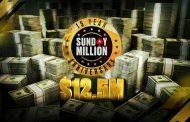 PokerStars zapowiada 15. urodziny Sunday Million i festiwal The 50/50 Series