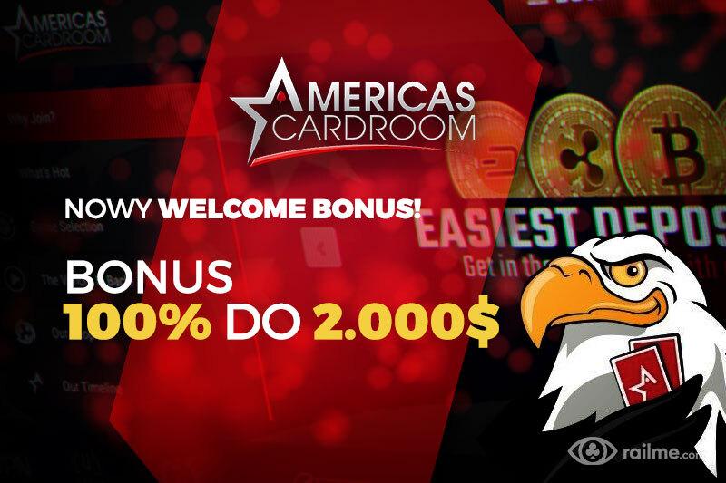 Styczniowe atrakcje i nowy bonus powitalny na Americas Cardroom!