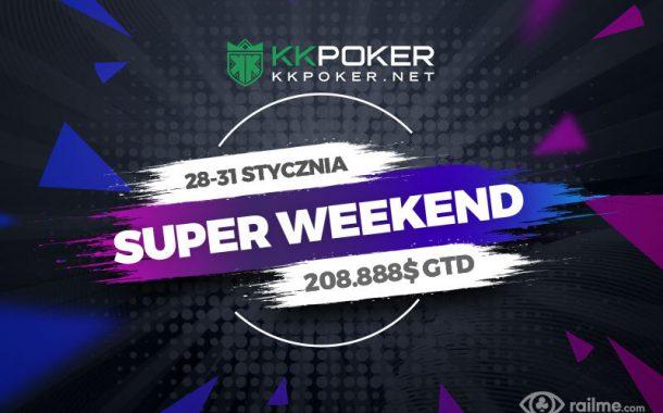 KKPoker – 208.888$ gwarantowane w ramach festiwalu Super Weekend!