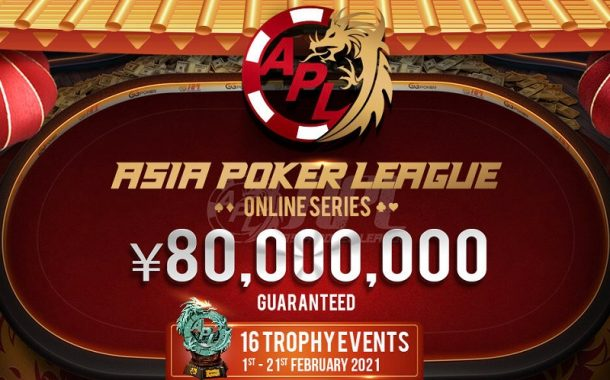 12.400.000$ gwarantowane w Asia Poker League Online Series na GGNetwork