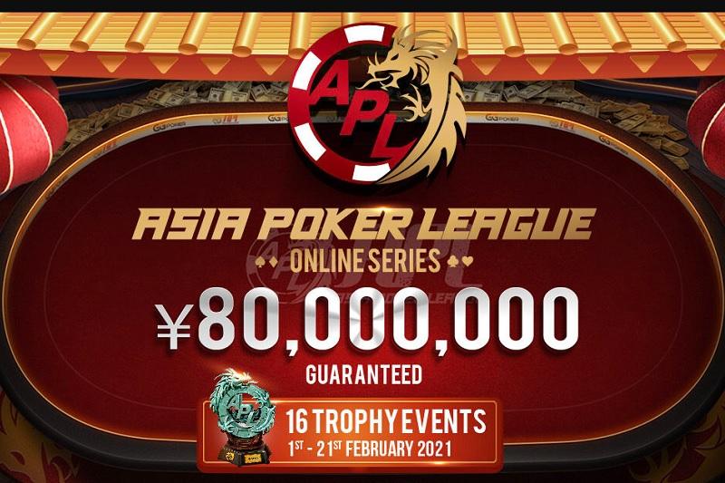 12.400.000$ gwarantowane w Asia Poker League Online Series na GGNetwork