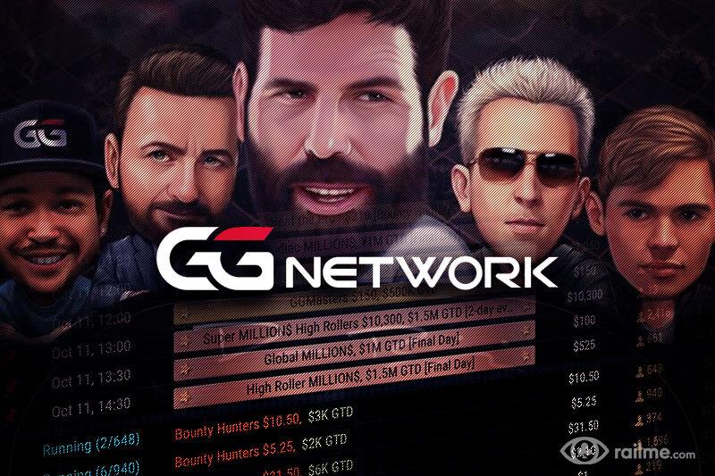Gry cashowe online – GGNetwork nowym liderem, wyprzedza PokerStars