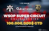 Rozpoczyna się WSOP Super Circuit Online Series na GGNetwork – 100.000.000$ GTD!