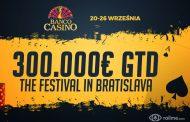 300.000€ gwarantowane w Main Evencie The Festival w Bratysławie