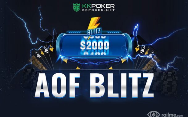 KKPoker wprowadza format AOF Blitz!