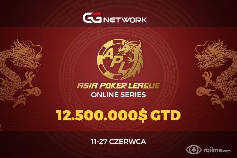 12.500.000$ gwarantowane w Asia Poker League Online Series na GGNetwork