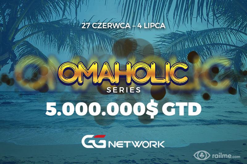 GGNetwork – 5.000.000$ w gwarantowanej puli nagród Omaholic Series