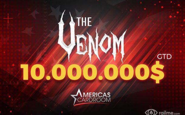 Americas Cardroom – 10.000.000$ gwarantowane w rekordowej edycji The Venom