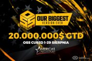 20.000.000$ gwarantowane w OSS Cub3d na Americas Cardroom