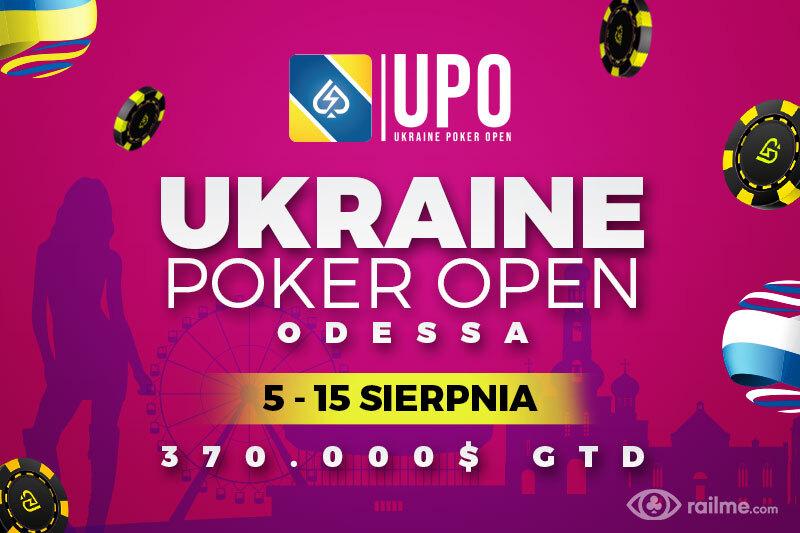 W sierpniu zapraszamy do Odessy na Ukraine Poker Open!