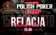 Polish Poker Cup dzień 1D – relacja na żywo 04:40