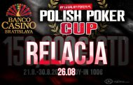 Legalny Poker Cup dzień 1 – relacja na żywo 05:30